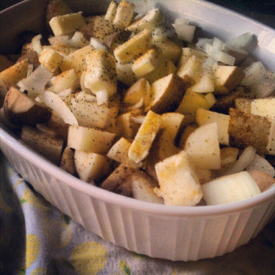 Easiest Yummiest Potatoes Ever!