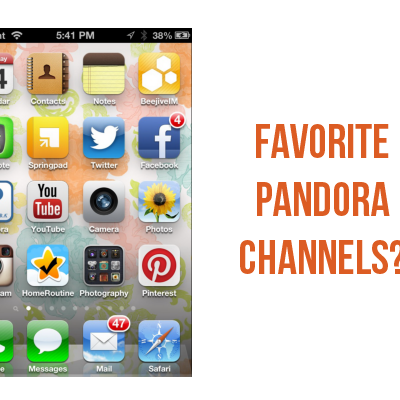 My favorite Pandora stations