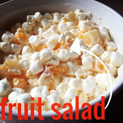 Holiday traditions – Fruit Salad Recipe